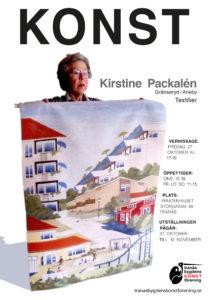 Kristine Packalén - textilier