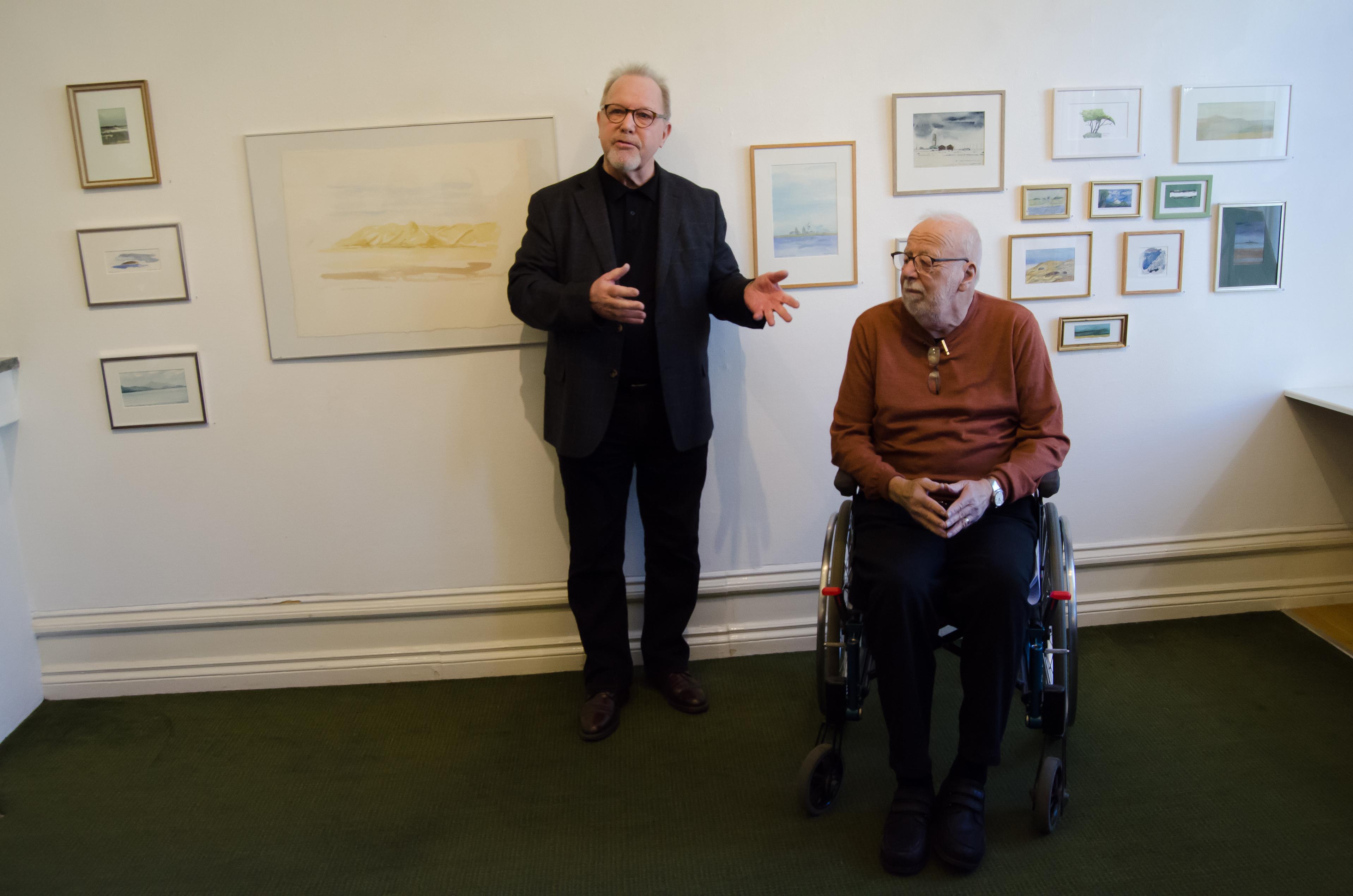 Bo Akterin och Ulf Svedberg