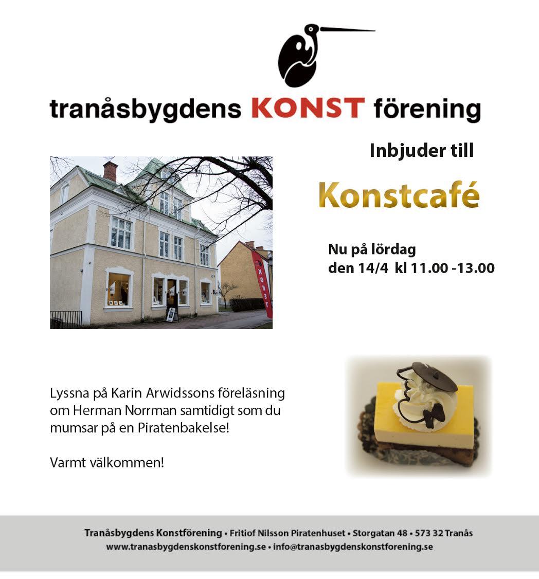 Konstcafé med föreläsning om Herman Norrman