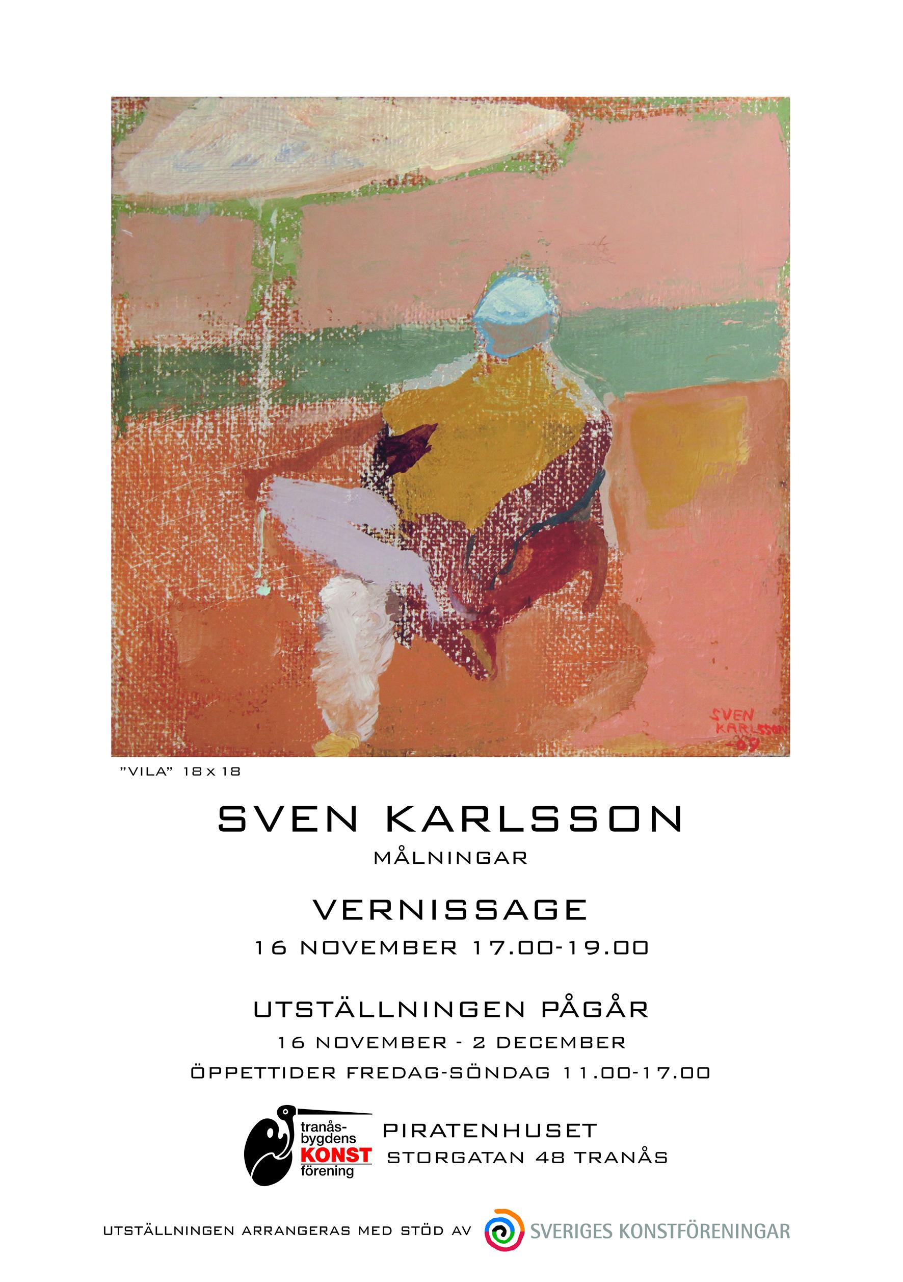Sven Karlsson - utställning
