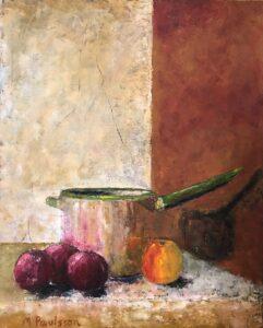 Kastrull lök o äpple 65x81